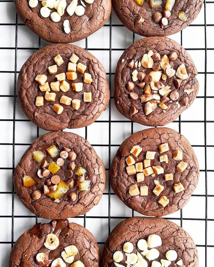 Cookies chocolat beurre de cacahuète de la mort qui tue