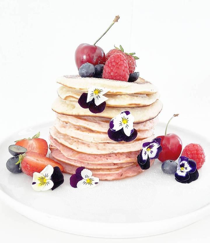 Pancakes pastels VEGAN