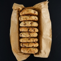 Cookies aux flocons d'avoine et au chocolat (VEGAN)