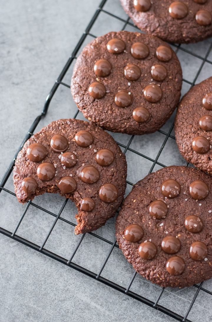 Cookies façon Brownies (PALEO VEGAN SANSGLUTEN)