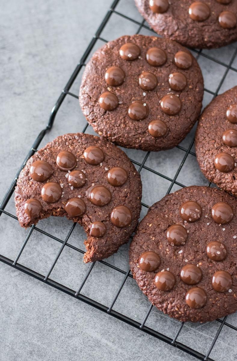 Cookies façon Brownies (PALEO VEGAN SANS GLUTEN)