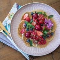 Pancakes au lait d'amande (VEGAN)