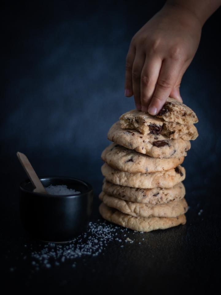 Cookies à la fleur de sel (SANSGLUTEN)