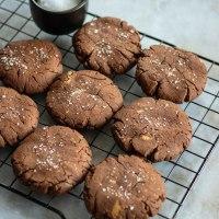 Cookies brownies chocolat et beurre de cacahuètes (SANS GLUTEN)